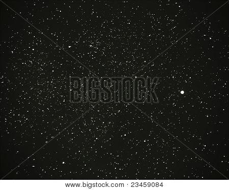 Cygnus And Milky Way