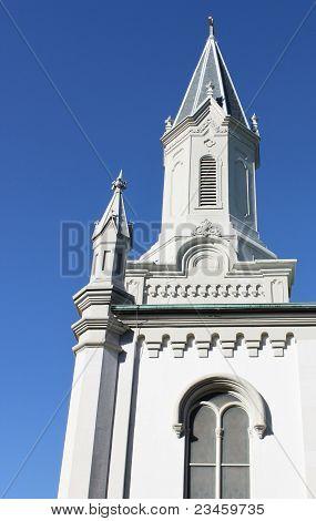 Savannah Church Against The Sky