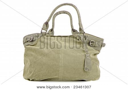 Green Woman Bag