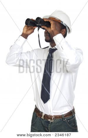 Man With Binoculars