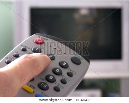 Entfernte und Tv