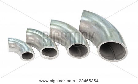 Galvanized Iron Pipe Bends