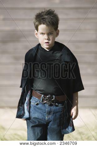 Boy With Attitude