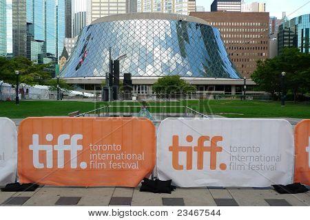 Roy Thomson Hall and Toronto Film Festival