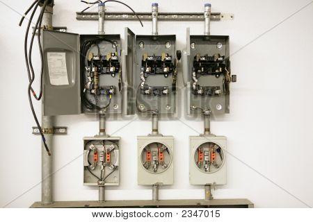 Elektrische Meter-Center