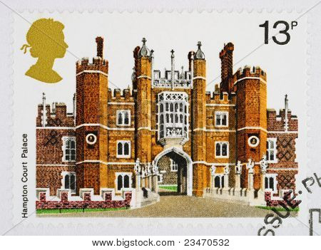 British Historic Buidlings Postage Stamp