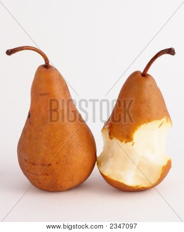 Partly Hungry For A Pear