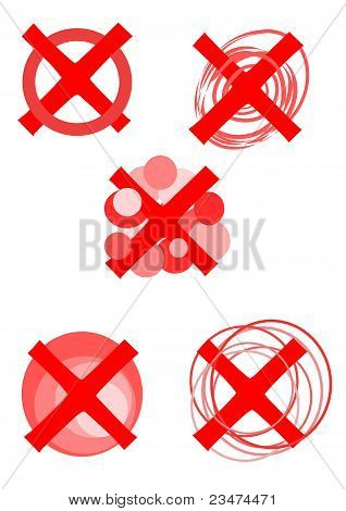 Rejected Symbols - Vector