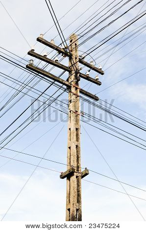 The Complex Of Telegraph Pole