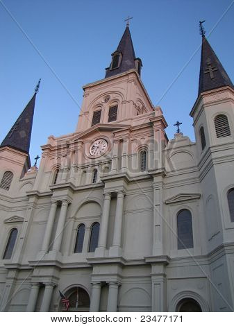 St Louis Cathedral Close-up