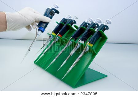 Set Of Pipettes