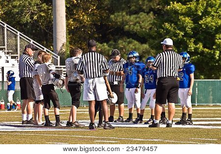 Pregame Instructions, Little League Football