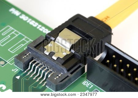 Technology - Serial Ata Card And Cable