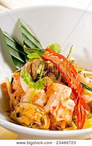 Fresh Seafood Thai Salad