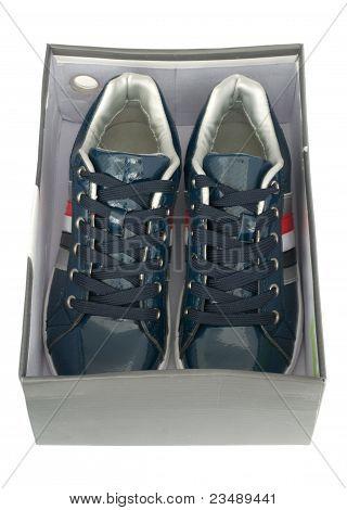 New Pair Of Sneakers In Box
