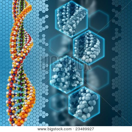 DNA analysis background