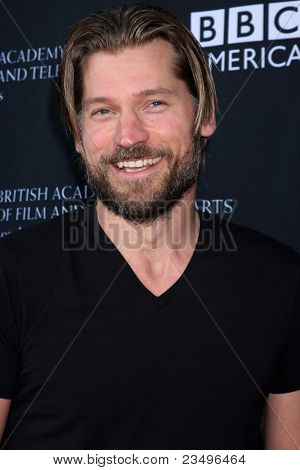 LOS ANGELES - SEP 17:  Nikolaj Coster-Waldau arrives at the 9th Annual BAFTA Los Angeles TV Tea Party. at L'Ermitage Beverly Hills Hotel on September 17, 2011 in Beverly Hills, CA