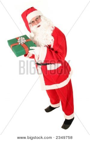 Elevated View Of Santa Claus