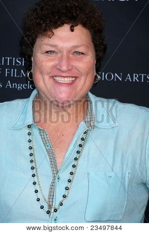LOS ANGELES - SEP 17:  Dot Marie Jones arrives at the 9th Annual BAFTA Los Angeles TV Tea Party. at L'Ermitage Beverly Hills Hotel on September 17, 2011 in Beverly Hills, CA