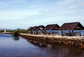 stock photo of surigao  - A Serene Scene Surigao del Norte Philippines - JPG
