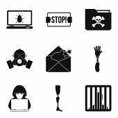 Seduction Icons Set. Simple Set Of 9 Seduction Vector Icons For Web Isolated On White Background poster