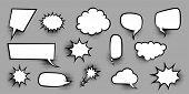 Announces Sketch Idea Conversation Sketch Explosion. Comic Text Speech Bubble Halftone Dot Backgroun poster