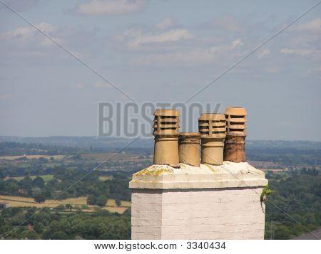 Four Chimney Pots
