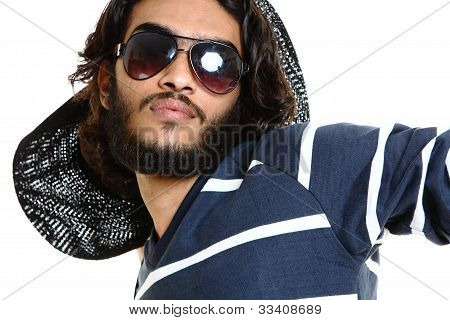 Porträt des indischen jungen Mann