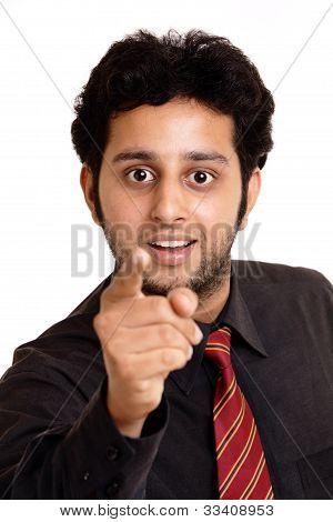 Portrait of an Indian business man