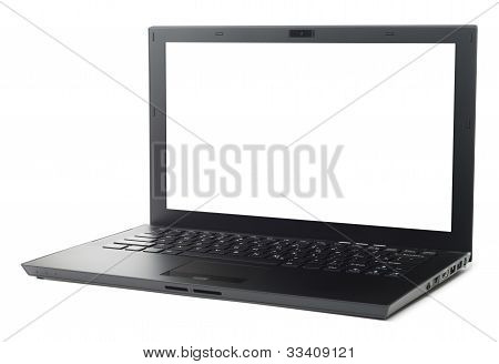 Thin Black Laptop