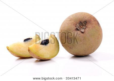 Sapote is a tasty amazon exotic fruit.