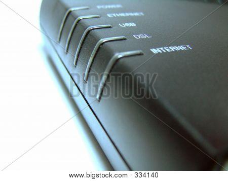 Broadband Modem Front