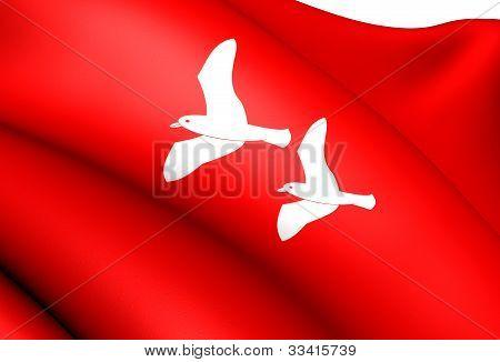 Flag Of Smola, Norway.