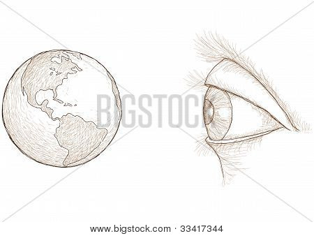 Eye Sees The World
