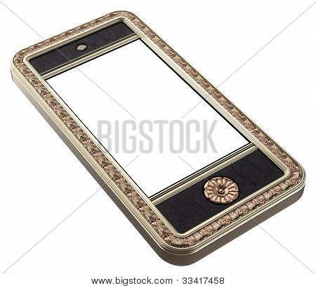 Exclusive golden mobile phone Iphone style
