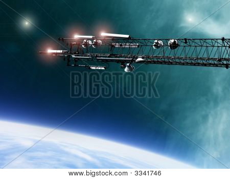 Space Station Communications Antenna