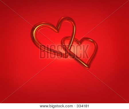 Two Golden Hearts