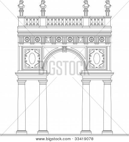 Ancient Antic Arch