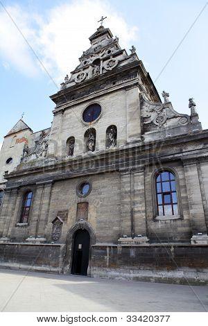 Bernardine Church In Lviv