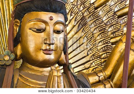 Thousand Hands  Kuan Im U Lai, Chinese God