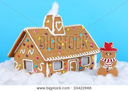 Gingerbread Christmas House