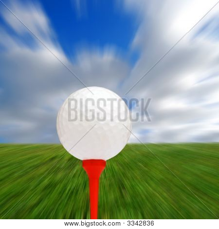 Golf Blur Abstract