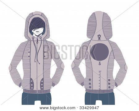 Design sweatshirt.