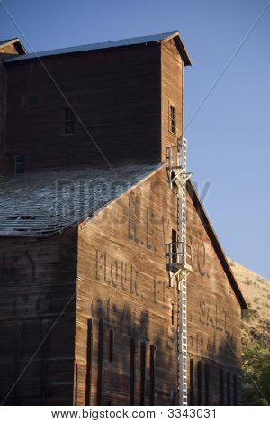 Old Abandoned Grain Elevator