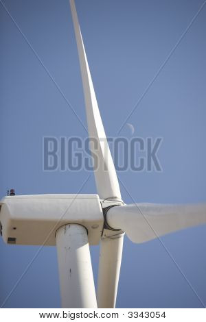 Wind Generator Close Up