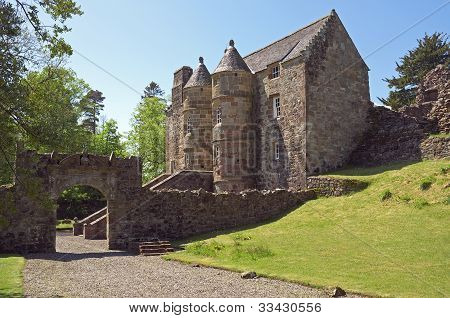 Castillo medieval de Escocia