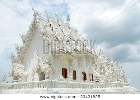 Thai Decoration In Wat Rong Khun