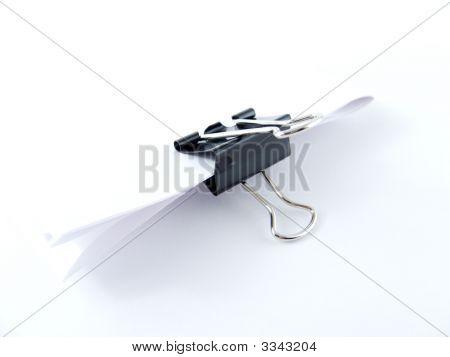 Bulldog Paper Clip