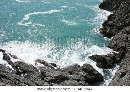 Manarola coast