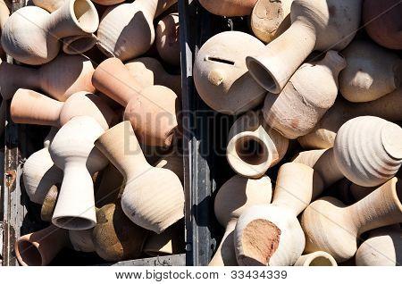 clay jugs